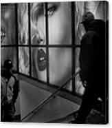 Subway Noir Canvas Print