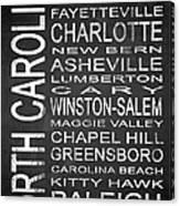 Subway North Carolina State 1 Canvas Print