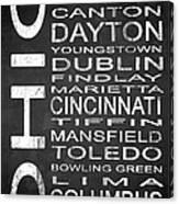 Subway Ohio State 1 Canvas Print