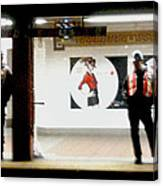Subway Workers Canvas Print