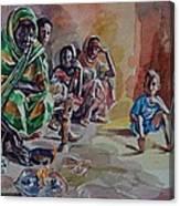 Sudanese Coffee Canvas Print