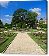 Sudeley Castle Gardens In The Cotswolds Canvas Print