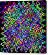 Sudoku Connections Wave Canvas Print
