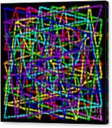 Sudoku Connections Weave Canvas Print