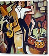 Suenos De Tango Canvas Print