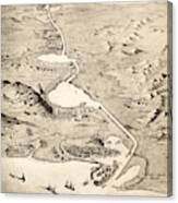 Suez Canal Canvas Print