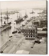 Suez Canal Port Said Canvas Print