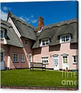 Suffolk Pink Canvas Print