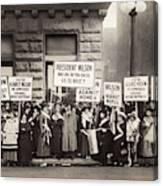 Suffrage Protest, 1916 Canvas Print