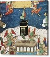 Sufti Abdullah 16th Century. Angels Canvas Print