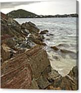 Sugar Bay Rocks Canvas Print
