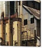 Sugar Factory Canvas Print