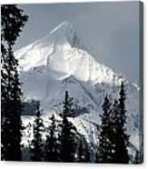 Sugar Icing Mountain Top Canvas Print