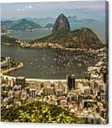 Sugar Loaf Mountain In Rio De Janeiro Canvas Print