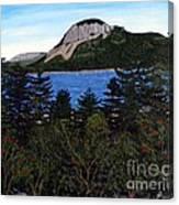 Sugarloaf Hill Canvas Print