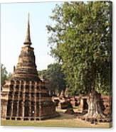Sukhothai Historical Park - Sukhothai Thailand - 011333 Canvas Print