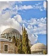 Suleiman Mosque 18 Canvas Print