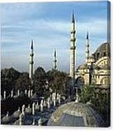 Suleymanhe Mosque, The Bizaar Quarter Canvas Print