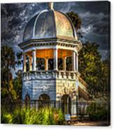 Sulfur Springs Gazebo Canvas Print