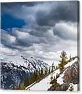 Sulphur Mountain Up High Canvas Print