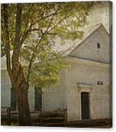 Sulphur Springs Methodist Church Canvas Print