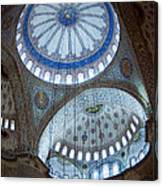 Sultan Ahmed Camii Blue Mosque Istanbul Turkey Canvas Print
