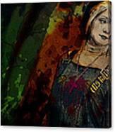 Sum Angle Gothic Portrait Canvas Print