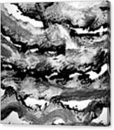Sumi-e 130225-2 Canvas Print