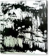 Sumi-e 130425-4 Canvas Print