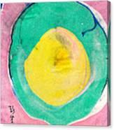 Suminagashi Circles Canvas Print