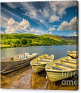 Summer Boating Canvas Print