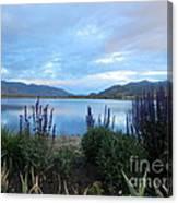 Summer Evening At Lake Osoyoos Canvas Print