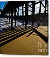 Summer Evening In Seal Beach Canvas Print