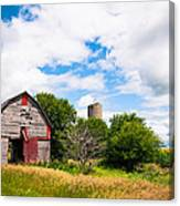 Summer Farm Canvas Print