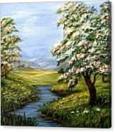 Summer Fields  Canvas Print
