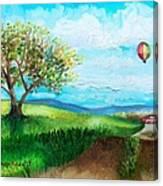 Summer Flight 2 Canvas Print