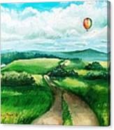 Summer Flight Canvas Print