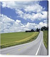 Summer Highway Canvas Print