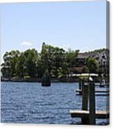 Summer Impression Lake Winnipesaukee Canvas Print