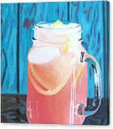Summer In A Mug Canvas Print
