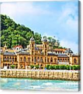 Summer In St Sebastian Canvas Print