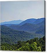 Summer In The Smokies Canvas Print