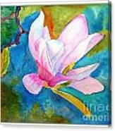 Summer Magnolia Canvas Print