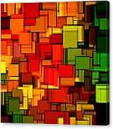 Summer Modern Abstract Art Xviii Canvas Print