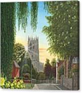 Summer Morning St. Mary Canvas Print