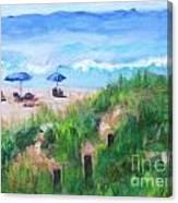 Summer On The Beach Canvas Print