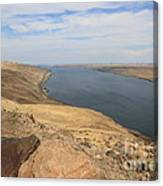 Summer On The Columbia River Canvas Print
