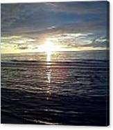 Summer Solstice Sunset Canvas Print