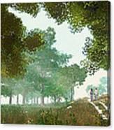Summer Stroll Canvas Print