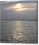 Summer Sunset Over Freeport Canvas Print